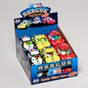 Candy Filled Cars 3asst Rescue Vehicles 12 Pc Counter Display