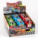 Candy Filled Formula One Racer Cars In 12ct Counter Display
