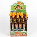 Candy Filled Wacky Monkey In 12ct Counter Display