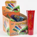 Candy Ooze Tube 4 Oz 3 Flavors 12ct Counter Display