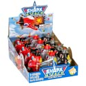 Candy Shark Attack 3 Assorted Candy Filled Plane .25 Oz 12pc Counter Display
