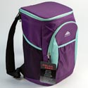 Cooler Back Pack Insulated 30 Can 4 Assorted See N2 Polar Pack