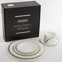 Dinnerware 5pc Place Setting Oneida Cabria Bone China*119.99* Heirloom Litho Boxed