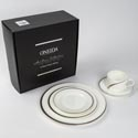 Dinnerware 5pc Place Setting Oneida Cabria Bone China Boxed Heirloom Collection