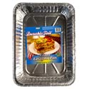 Aluminum Lasagna Pan Giant 13.5 X9.5 X 3in  Made In Usa Made In Usa
