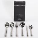 Serving Set 6pc 10.38in Fine S/s Oneida Cowell *89.99* Black Box