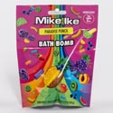 Bath Bomb Mike & Ike Paradise Punch 2.1oz Peggable Bag