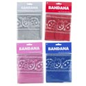 Bandana 19.5in 4ast Colors Matching Artwork Pbh