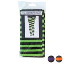Tights Adult Striped 4ast Colors Pb/insert Red/green/orange/purple