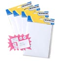 Labels Self-stick White Blank 4ast Sizes 80/200/640/700ct Stationary Pbh