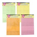 Preprice Stickers 216ct 4asst Neon Colors 2sheets/pk Polybag/ Ea Pack Includes 54pc Diy Price