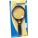 Magnifier Jumbo 10.5in W/handle 3x & 4x Power Stationary Blister