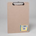 Clipboard 9x12 Chipboard W/flat Clip-shrink W/stat Label