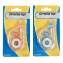Correction Tape 26ft L Blue/orange Color Stat Blst