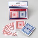 Playing Cards 2pk Coated Large Print Boxed