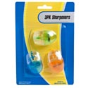 Pencil Sharpener Novelty 3pk Computer Mini Mouse Shape 3ast Color Per Pk Stat Blister Card