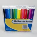 Marker 18ct Washable Watercolor Pvc Bag W/stationary Insert