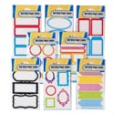 Labels Selfstick 8ast Styles 30-60ct 4styles Per 12pc Mdsgstp Stationary Artwork