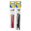 Artist Paint Brushes 5/6pk Wood/nylon Stat Pbh