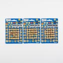 Emoticon Push Pin 25pc 10mm Dia Blister Card/random Combos