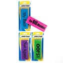Eraser Jumbo Big Mistake 6x2x.5in 4clrs/4sayings 140g/pc Stationary Blister Card