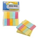 Sticky Notes 100sheets/500flags 3x3 Yellow Pad W/color Flags Pb/insert Header