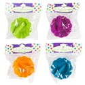 Ice Cream Bowls W/mini Spoons 6pc Set/3pc Ea/wave Shaped Bowl 4ast Summer Colors/prtd Pb