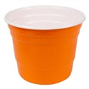 Bucket Plastic Jumbo Double Wall 9.64 X 7.52in 4ast Summer Colors 260g Summer Upc Label