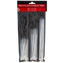 Cable Ties Nylon 85ct Clear 3 Sizes/pk Hrdw Pvh