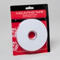 Tape Foam Double-stick Mounting .75in X 5.5yd X 2mm Hardware Blister Card