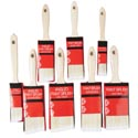 Paint Brush Wood Handle 1-3in 8asst Straight/angled Edge Hrdw Sleeve Card-sizes N2
