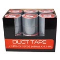 Tape Duct Silver 1.89in X 10yds (48mm X 9.14m) In 24pc Pdq