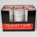 Tape Clear 1.89in X 55yds 48mm X 50m 24pc Pdq