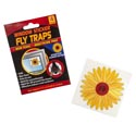 Flying Insect Trap Window Stcker 4pk Flower Shape 12pc Mdsg Strip Non-toxic/printed Envelope
