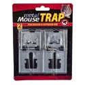 Mouse Trap Metal 2pk Indoor/outdoor Use Hdwr/blister