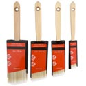 Paint Brush Wood Handle 1-3in 4ast Sizes Angle Edge Hdrw Tcd