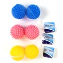 Dryer Balls 2pk 2.75in Dia 3ast Colors In Net Bag Ht ** No Amazon Sales **