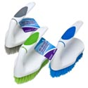 Scrub Brush Iron Shape Handle 5.5in 3ast Colors Cleaning Ht