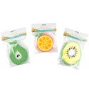 Sponge Cleaning Fun Novelty Fruit Orange/pear/kiwi Foam Polybag/header