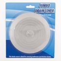 Drain Cover Jumbo 6.1in Dia Rubber Cleaning Blister Art Use In Kitchen/bath/laundry Room
