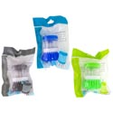 Soap Dispensing Palm Brush 3ast Colors/color Bag