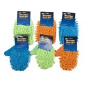 Car Wash Cleaning Mitt Wet/dry 2style/3colors Auto Header Card Green/orange/blue