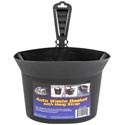 Auto Waste Basket W/adjustable Hanging Strap 9.6 X 4.8 X 7 In