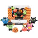 Dog Toy Halloween Squeaky 6ast In 48pc Pdq