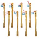 Back Scratcher 20in Bamboo 8ast With Massage Rollers Hba Ht