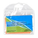 Eyeglass Cleaning Cloths 2pk Microfiber Ast Color/merch Strip Pvc Bag