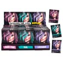 Hair Color Temporary 3ast Colors Teal/lavender/baby Pink 0.5oz W/comb 36pc Pdq/color Box
