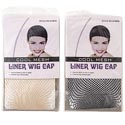 Wig Fishnet Cap 1pc Black Nylon/spandex One Size Fits Most Pb Insert Card W/photo