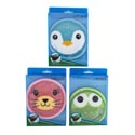 Cold Pack Reusable 3 Novelty Faces 4.7in Dia/130g Prtd Pvcbox