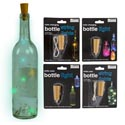 Bottle Lights 4ast/mdsg Strip 10string/led In Colorchng/white Battery Included/blister/mdsg